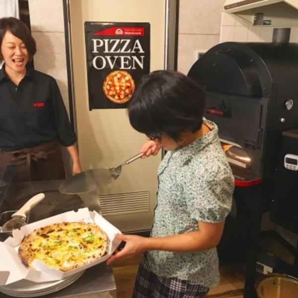 『ピザ焼き体験🍕』