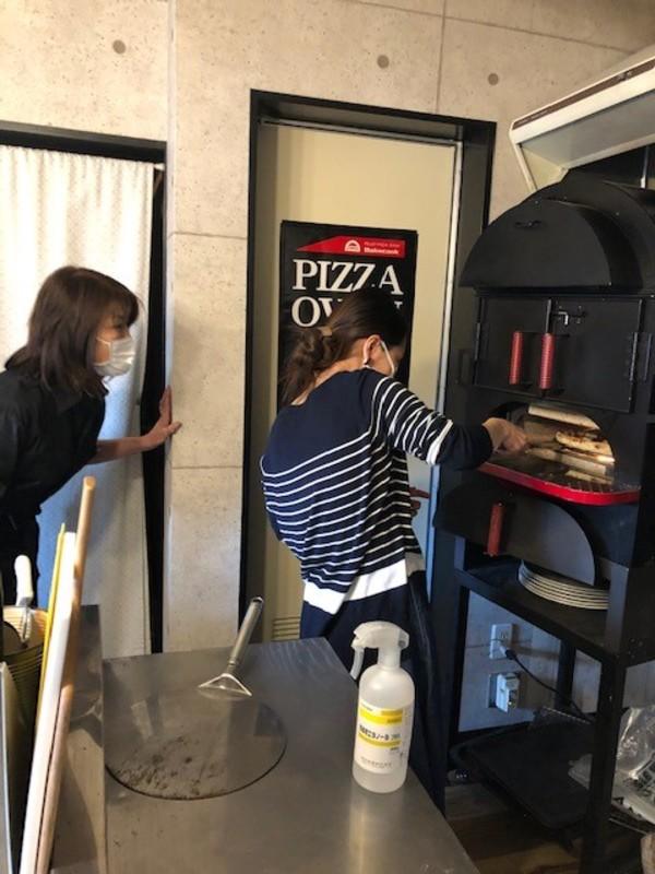 5月のピザ焼き体験会
